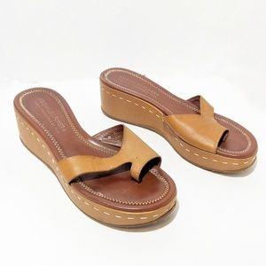 Donald J. Pliner Wedge Sandals